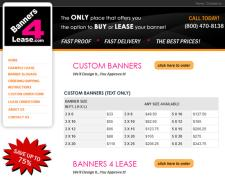 Banners for Lease